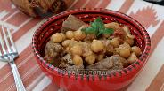 Фото рецепта Метаума с нутом и помидорами