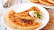 Фото рецепта Лепёшки с сыром