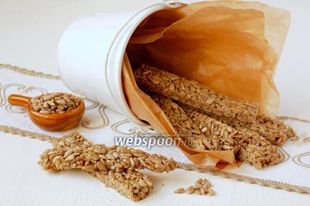 Фото рецепта Козинаки из семечек подсолнуха