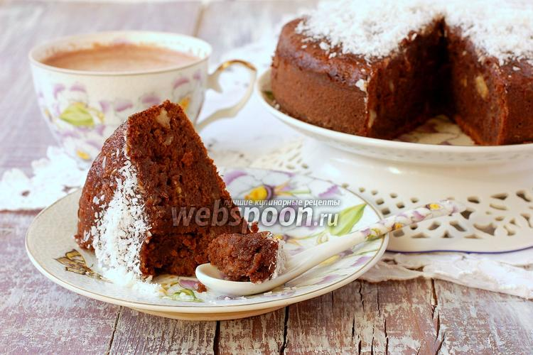 Фото Шоколадно-банановый пирог