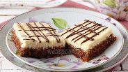 Фото рецепта Шоколадно-творожные пирожные