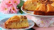 Фото рецепта Яблочно-ореховый пирог