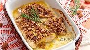 Фото рецепта Рыба в миндально-кофейной «шубе»