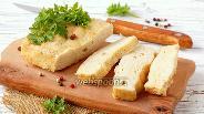Фото рецепта Куриное суфле с плавленым сыром в микроволновке