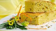 Фото рецепта Кукурузный пирог с розмарином