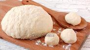 Фото рецепта Заварное дрожжевое безопарное тесто
