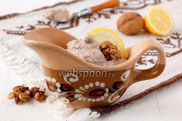 Фото Постный ореховый майонез