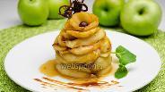 Фото рецепта Карамелизированные яблоки