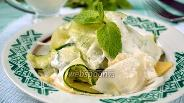 Фото рецепта Салат из дайкона с огурцом