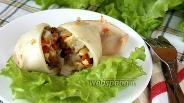 Фото рецепта Кальмары фаршированные белыми грибами