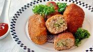 Фото рецепта Зразы мясные с грибами и брокколи