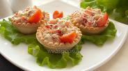 Фото рецепта Тарталетки с сыром и сладким перцем