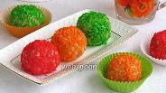 Фото рецепта Вафельные шарики в кокосовой стружке