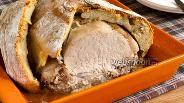 Фото рецепта Свинина запечённая в тесте