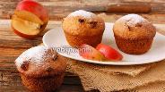 Фото рецепта Постные яблочные кексы