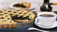 Фото рецепта Маковый пирог без яиц