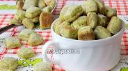 Фото рецепта Сухарики с петрушкой и укропом
