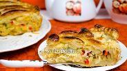 Фото рецепта Пирог с квашеной капустой