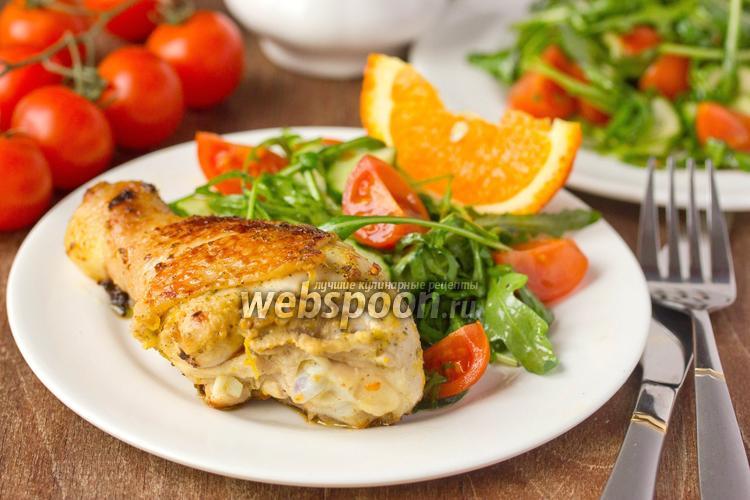 Фото Курица в цитрусово-горчичном маринаде
