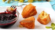 Фото рецепта Жареный сыр камамбер