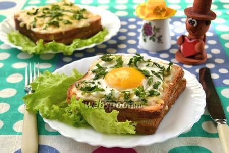 Французские бутерброды крок-мадам и крок-месье