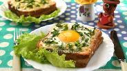 Фото рецепта Французские бутерброды крок-мадам и крок-месье