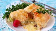 Фото рецепта Сыр бри запечённый в тесте