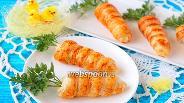 Фото рецепта Закуска «Трубочки-морковки»