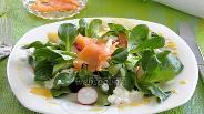 Фото рецепта Весенний салат с лососем