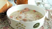 Фото рецепта Бюнднерский перловый суп