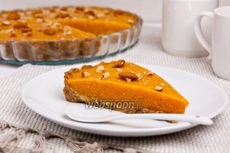 Тыквенный пирог без выпечки