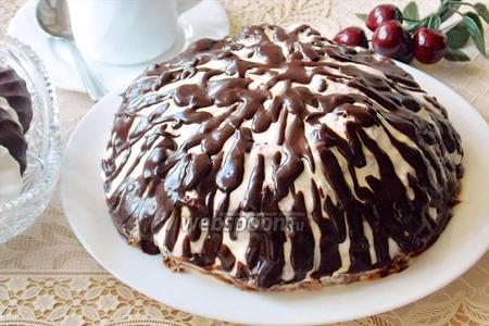 Торт «Панчо» с вишней