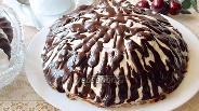Фото рецепта Торт «Панчо» с вишней