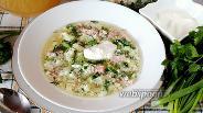 Фото рецепта Окрошка на квасе из берёзового сока