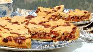 Фото рецепта Швейцарский ореховый пирог