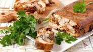 Фото рецепта Куриный рулет в желе