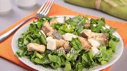 Фото рецепта Салат с тунцом и сыром
