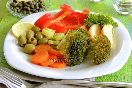 Овощи в паровом шкафу