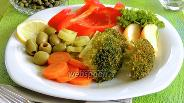 Фото рецепта Овощи в паровом шкафу