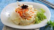 Фото рецепта Салат с бобовыми ростками