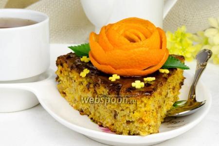 Пасхальный апельсиновый торт