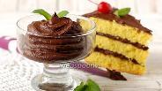 Фото рецепта Шоколадный крем из шоколада