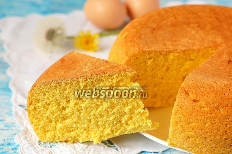 рецепт бисквит в пароварке с фото