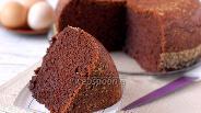 Фото рецепта Бисквит шоколадный в мультиварке