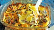 Фото рецепта Картофельная запеканка в паровом шкафу