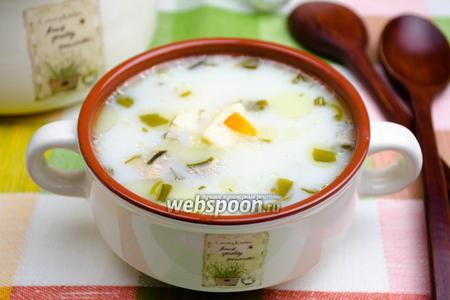 Суп с сыром в мультиварке
