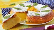 Фото рецепта Творожный пирог в мультиварке