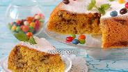 Фото рецепта Пирог с ревенем в мультиварке