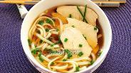 Фото рецепта Лапша с курицей и соусом терияки