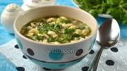 Фото рецепта Щавельный суп с пастой